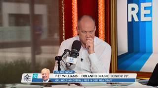 Orlando Magic VP Pat Williams Says He