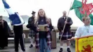 Scotland's Independence Day, Seaside Oregon 2008...