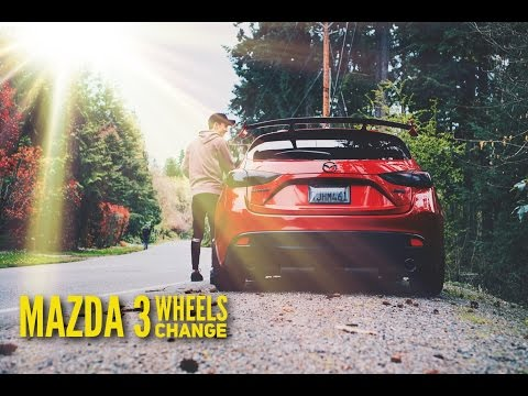 MAZDA 3 WHEELS CHANGE // EASTER CRUISE & SHOOT W FRS & ANOTHER MAZDA 3 ?!?!?!? VLOG#2