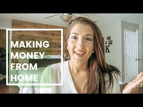 How to Make Extra Money at Home  | Ways to Make Money as a SAHM 2018