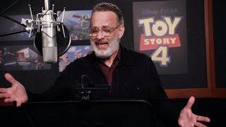 Toy Story 4: Behind the Scenes Cast Voice Overs - Tom Hanks, Tim Allen | ScreenSlam