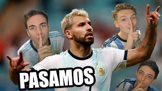 ESTE VA A SER EL CAMPEON...  MIRA NUESTRA PREDICCIÓN ACA!! https://youtu.be/W3LNhJ0l3vs  HAZ VIDEOS CONMIGO: https://www.youtube.com/FranMG/join  SUSCRIBITE a mi NUEVO CANAL!! https://www.youtube.com/FranMG10?sub_confirmation=1  Las mejores jugadas y goles del partido Argentina vs Qatar 2-0 Copa América 2019 con goles de Lautaro Martinez y gol del Kun Aguero.  SUSCRIBITE A IAN LUCAS!! https://youtube.com/Ianlucasoficial?sub_confirmation=1  Like & Suscribite! :D http://www.youtube.com/user/TheFranMG?sub_confirmation=1  Seguime en mi Instagram: http://instagram.com/fran Seguime en Twitter: http://twitter.com/Fraaanchuuu Dame like en Facebook: http://facebook.com/TheFranMG  Reacciones de amigos al Qatar vs Argentina 2-0 Copa América 2019.