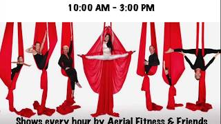 6th Annual Aerial Fitness Blood Drive & Show Commercial