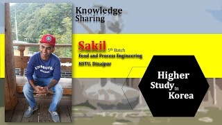Higher Study In Korea For Food Engineers