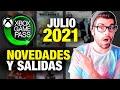 Xbox Game Pass Julio 2021 Nuevos Juegos Para Xbox Serie