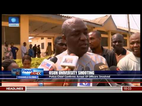 UNIOSUN Students Protest Shooting Of Two Students