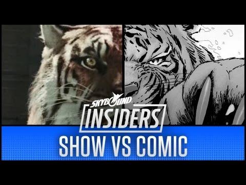 The Walking Dead Season 7 Show vs Comic!