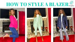 How to Style a Blazer   How to Wear a Blazer   Business Outfits