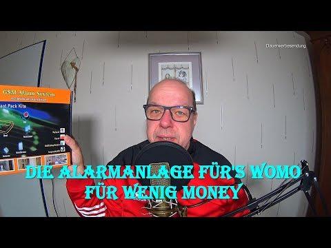 Alarmanlage für's Womo von Finesell für wenig Money
