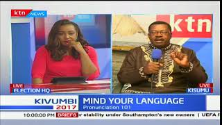 Mind your language 18th August 2017