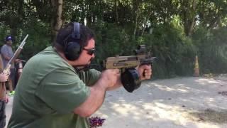 CW Gunwerks Full Auto Ak47 Micro Draco With A 75 Round Drum