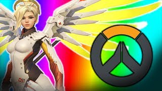 Overwatch - New Mercy Gameplay