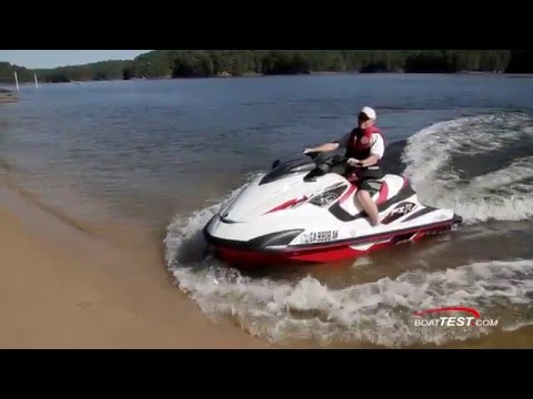 Yamaha FZR SVHO (2016-) Review Video- By BoatTEST.com