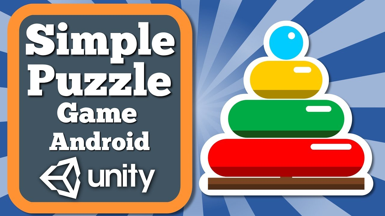 Unity Tutorial How To Make Simple Puzzle Game | Stacking Rings Pyramid Educational Game For Kids