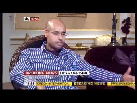 Download Saif Gaddafi extensive interview with British Press Mp4 HD Video and MP3