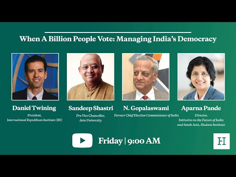 When A Billion People Vote: Managing India's Democracy