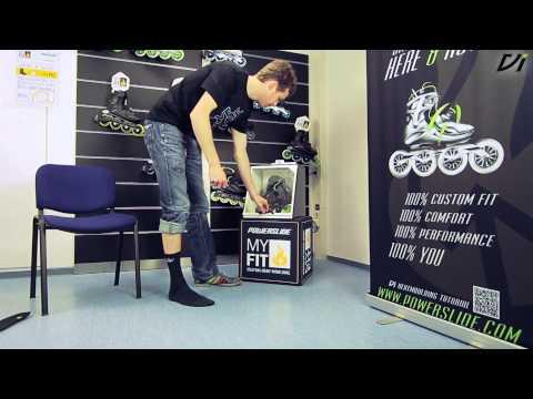 Powerslide Vi Myfit Thermo-Anpassung - Wie heatmolde ich meinen Skate?