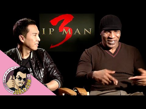 IP MAN 3 Interviews (2016) Mike Tyson + Donnie Yen
