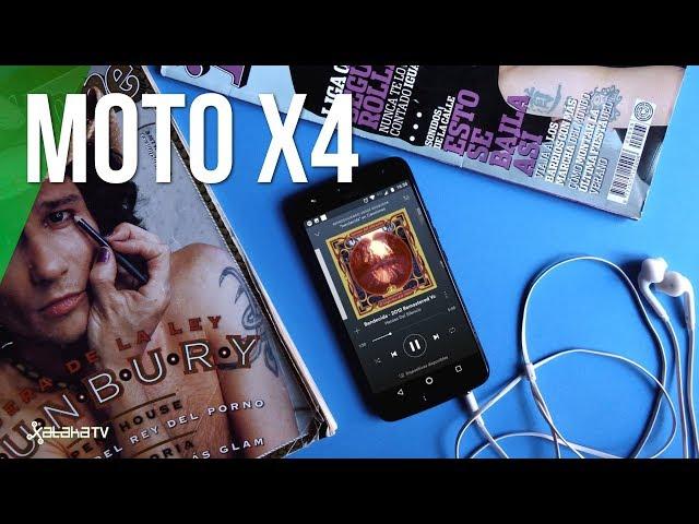 Moto X4, review