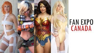 FAN EXPO CANADA COMIC CON 2019 TORONTO BEST COSPLAY MUSIC VIDEO COSTUMES ANIME CMV Video