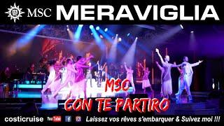 MSC MERAVIGLIA Show