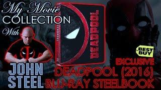 Deadpool (2016) Best Buy Steelbook | Narrated by John Steel | Blu-ray Showcasing / Unboxing