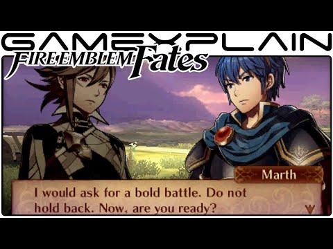 Fire Emblem Fates - Battling Marth (amiibo)