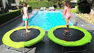 """YOU WON'T DO IT"" Swimming Pool Challenge!!"