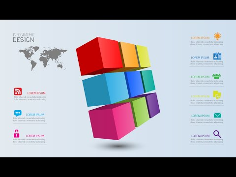 Infographic Tutorial infographic tutorial illustrator cs : Adobe illustrator cc 3d logo design tutorial trine
