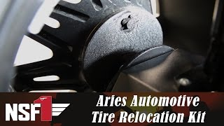 NSF1 Project Jeep Part 19: Aries Automotive Jeep Tire Relocation Kit