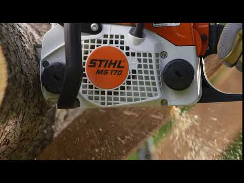Stihl MS 170 in Saint Johnsbury, Vermont - Video 1
