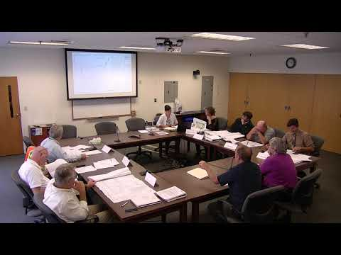 9/10/19 Technical Advisory Committee: Work Session