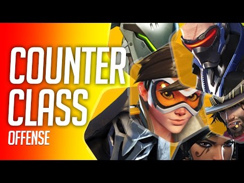 Overwatch Counter Class - Offense Heroes (How To Counter Pick)