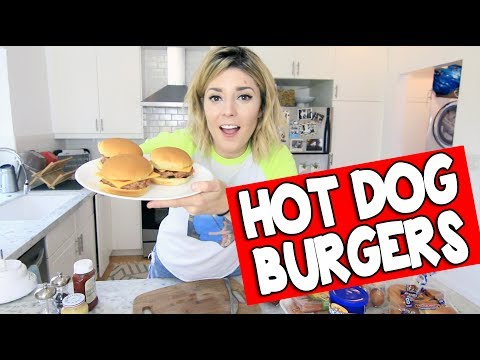 HOW TO: HOT DOG BURGERS // Grace Helbig