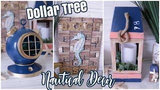 Dollar Tree DIY Nautical Decor | Beach Decor