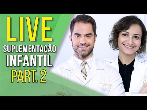 Suplementação Infantil Part. 2 | Live - Andreia Friques | Dr. Victor Sorrentino