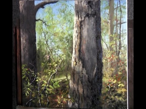 Paint with Kevin Hill - Close up Tree