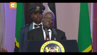 Rais Magufuli akemea ukabila Kenya