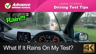 What If It Rains On My Driving Test?  |  Learn to drive: 2020 UK Driving Test