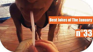 ПОДБОРКА ЛУЧШИХ  ПРИКОЛОВ ЗА  ЯНВАРЬ 2016 n°33 \ Best Jokes of The January 2016 n°33 HD
