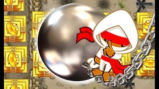 Top 10 - How to destroy the Golden Bloon 10 ways - BTD5 - Самые