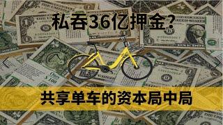 """从估值200亿到欠债36亿,是谁亲手杀死了ofo?复盘""""金钱围剿""""下共享单车的资本局中局"""