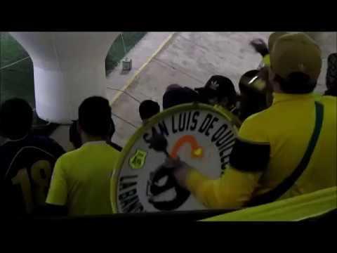 """Debut de San luis de Quillota en el torneo transición 2017"" Barra: Ultra Kanaria • Club: San Luis de Quillota"
