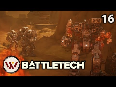 Defense: Smithon - Campaign Mission - BattleTech - смотреть