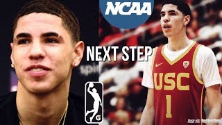 What's The Next Step For LaMelo Ball Basketball Career...   G League Or NCAA