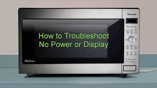 how to unlock a panasonic microwave