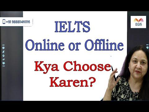 IELTS Online or Offline | Kya Choose Karen - YouTube