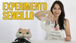 Experimento De Globo Que Se Infla Solo Facil De Hacer En Casa - Experimentos-para-nios-con-globos