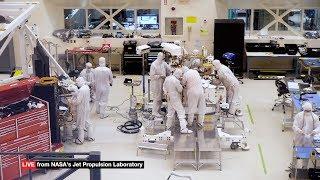 Acompanhe a construção do próximo robô da NASA