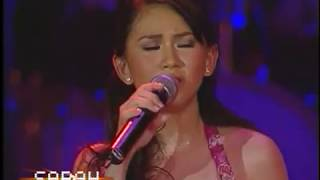 Sarah Geronimo sings I Want To Know What Love Is [LIVE!]
